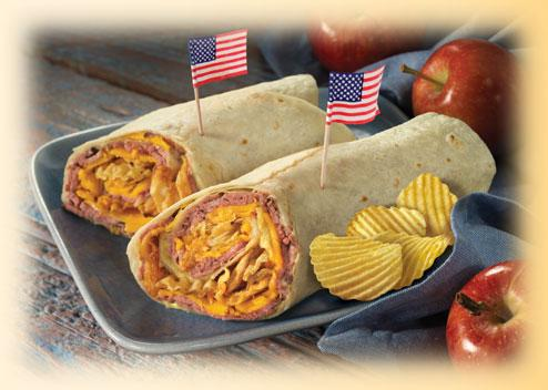 The 'All American' Wrap