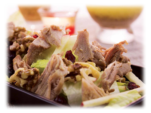 Apple Carnitas Salad