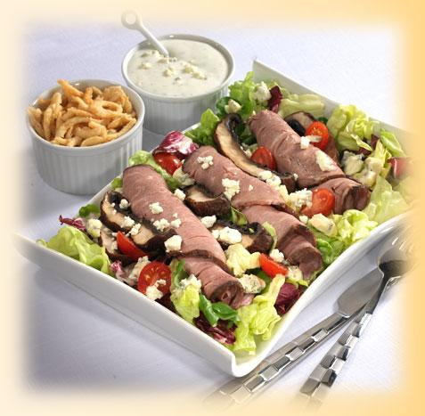 Black and Bleu Salad