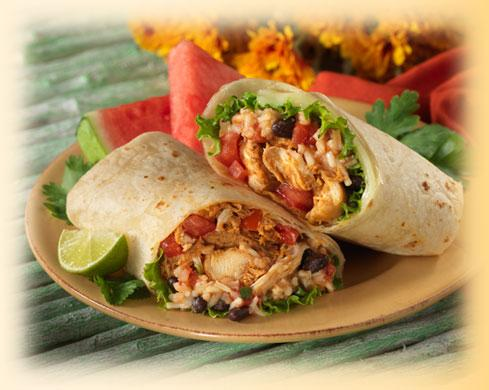 Chipotle Chicken Burrito