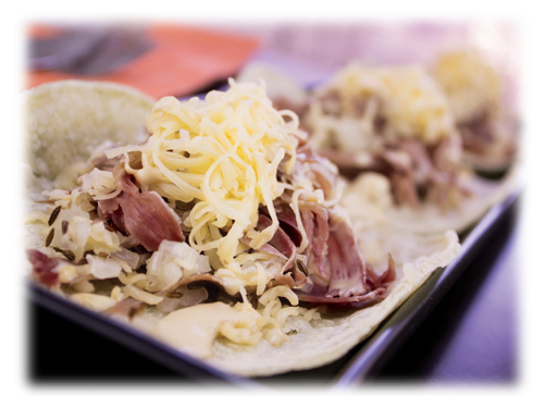 Corned Beef Taco
